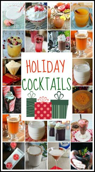 Holiday and Christmas Cocktails   snappygourmet.com