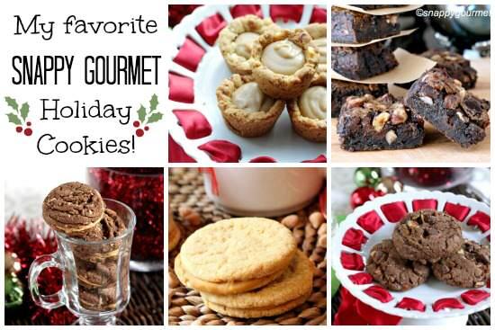 Favorite Christmas Cookie Recipes | snappygourmet.com