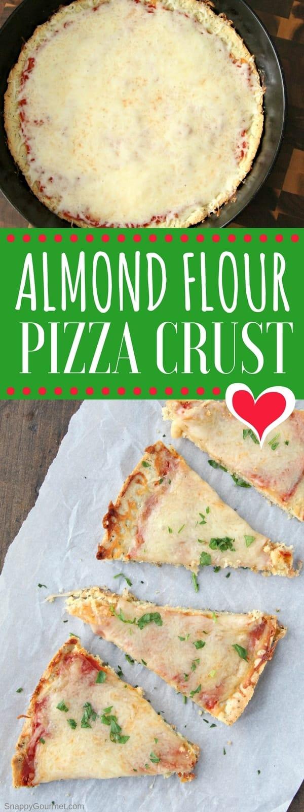 Almond Flour Pizza Crust Pin