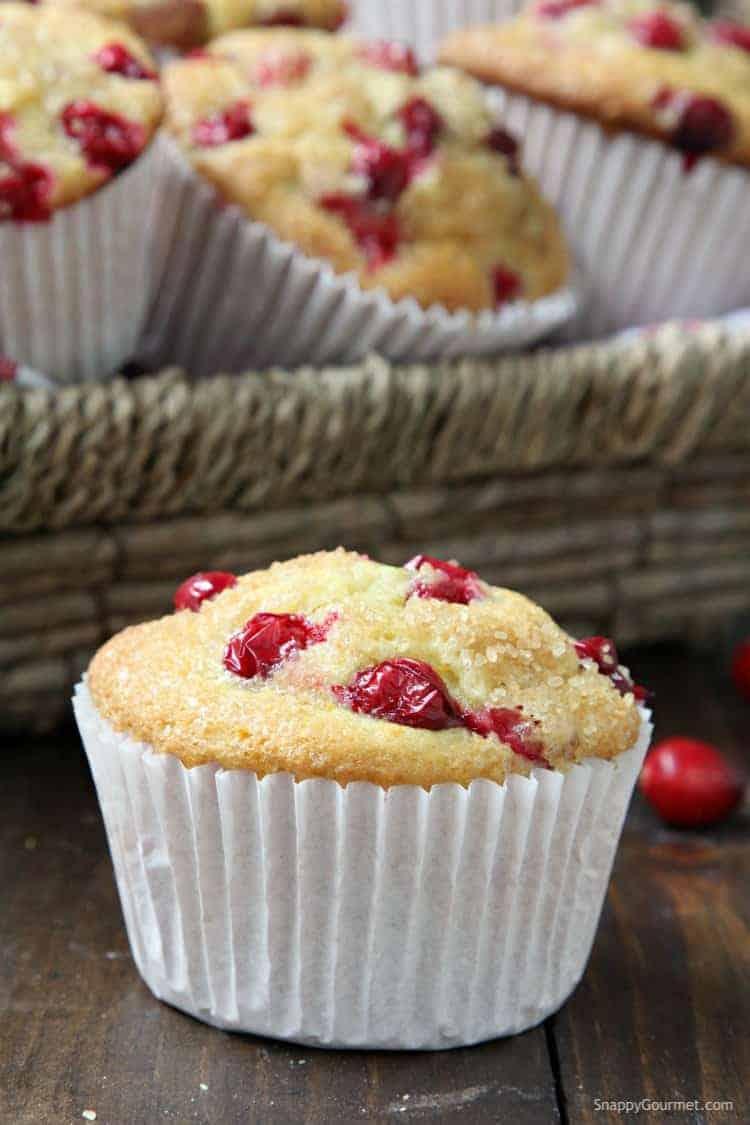 Cranberry Orange Muffins - best cranberry orange muffins recipe