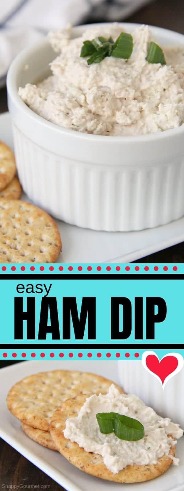 Ham Dip photo collage