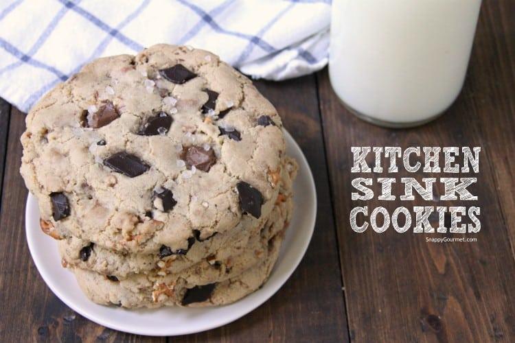 top of Kitchen Sink Cookies