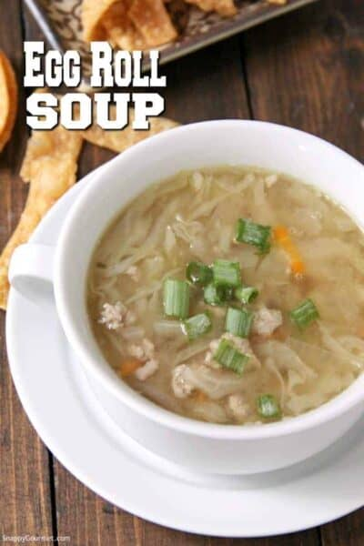 white bowl with egg drop soup
