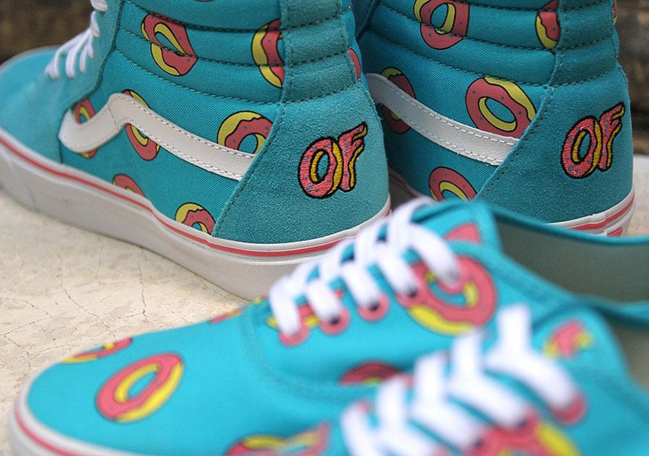 Teal Vans Shoes