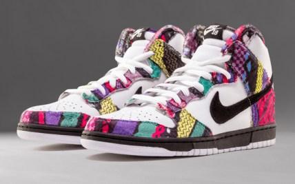cce4092a Nike SB Dunk High Huxtable COOGI 313171 101 Sneaker Bar Detroit
