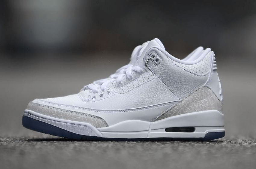 Air Jordan 3 Pure White 136064 111 Release Date   Sneaker Bar Detroit Air Jordan 3 Pure Triple White
