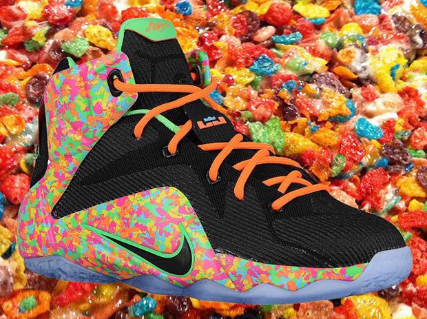 Nike Postpones Release of Fruity Pebbles LeBron 12 ...