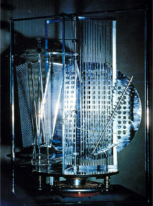 Light Prop For An Electric Stage By Laszlo Moholy Nagy