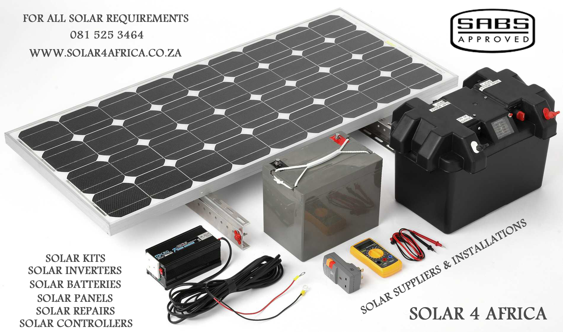 Solar Charge Portable Power Supply