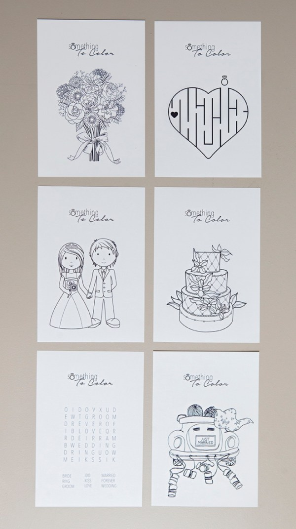 free wedding coloring pages # 9
