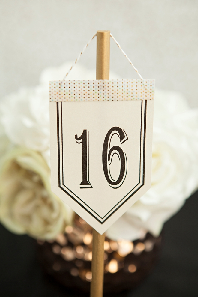 Look At These Unique Diy Table Number Stands