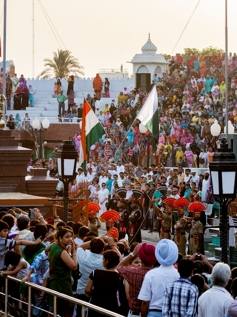 Wagah Border Ceremony Indian Pakistan Border Sonya And