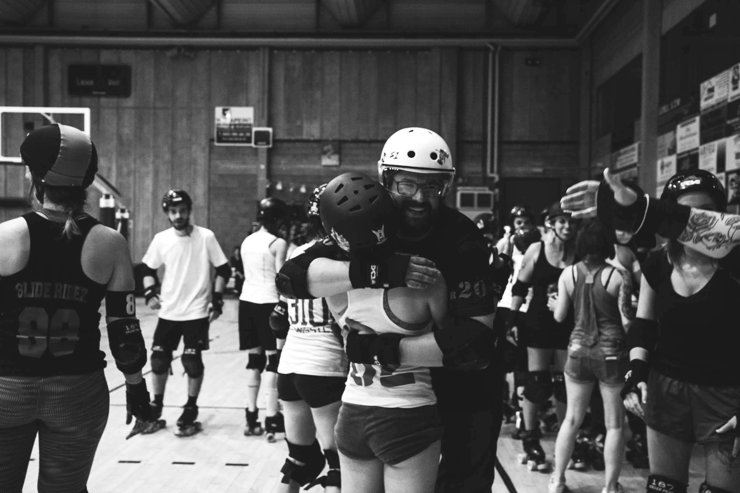 Sophie Bernard Photography - Reportage - Roller Derby