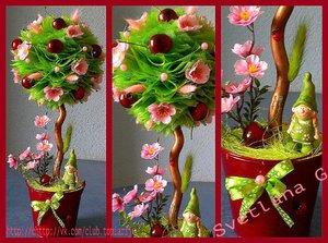 Crie Topiary com suas próprias mãos