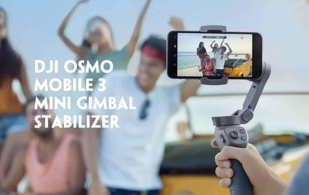 DJI Osmo Mobile 3 Mini Handheld Foldable Gimbal Stabilizer SOP