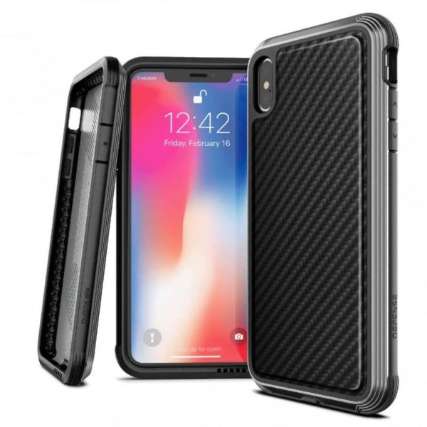 iPhone XS Max Case Defense LUX SOP
