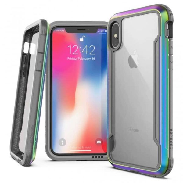 iPhone XS Max Defense Shield Iridescent SOP