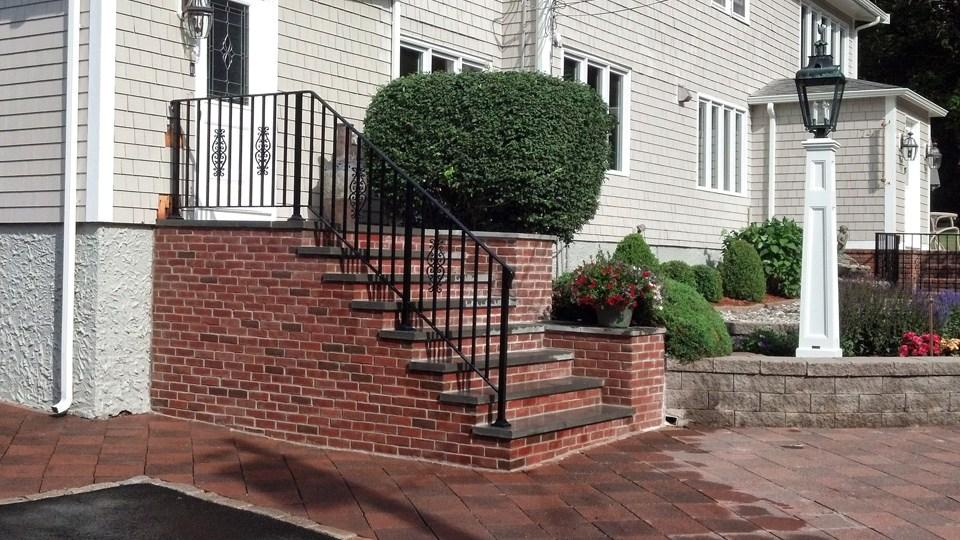 Wrought Iron Railings Ma Ri Custom Iron Hand Rails Ornamental | Wrought Iron Steps Outdoor | Wood Interior | Current | Iron Handrail | Staircase | Backyard