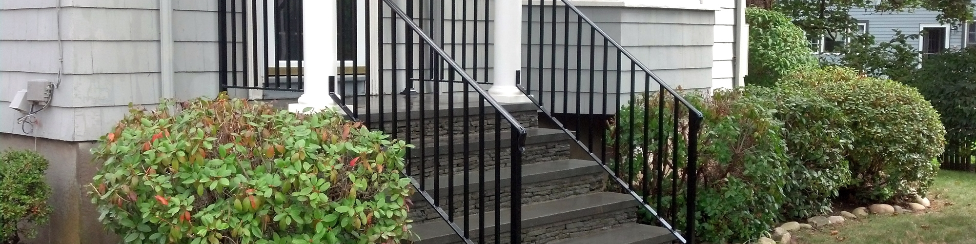 Wrought Iron Railings Ma Ri Custom Iron Hand Rails Ornamental | Wrought Iron Hand Railing Exterior | Cast Iron | Steel | Steps | Deck | Iron Stair Rail