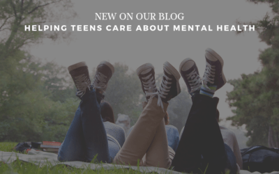 Helping teens care about mental health