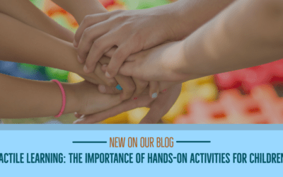 Tactile learning: the importance of hands-on activities for children