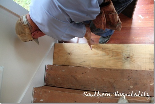 Week 20 How To Install New Stair Treads Southern Hospitality | Installing Wood Stair Treads | Stair Parts | Non Slip | Stairway | Hardwood Flooring | Stair Stringers