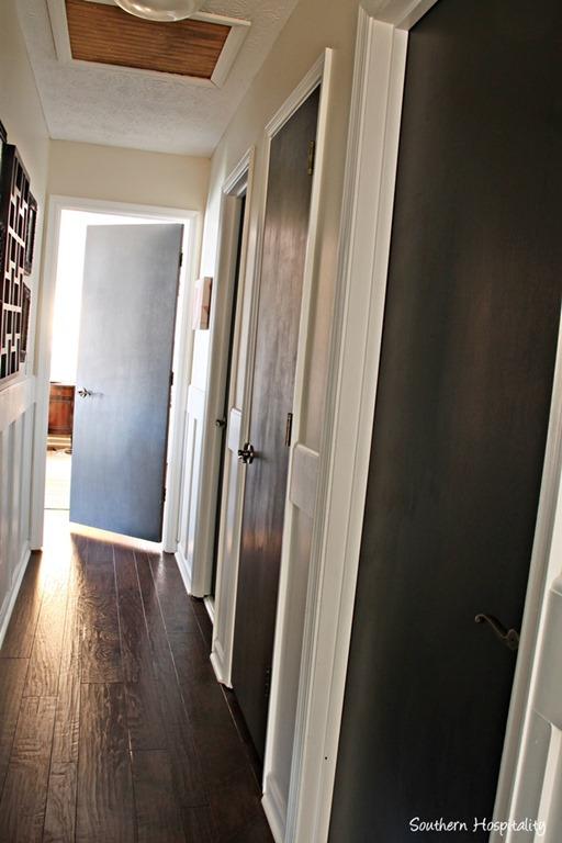Brown Interior Doors White Trim