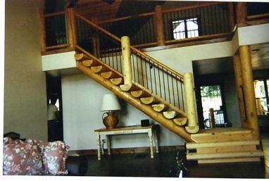 Southwest Railings Hand Peeled Railings Dry Lodge Pole Rails Hand | Pine Handrail For Stairs | Stair Parts | Anti Slip | Handrail Brackets | Stair Treads | Wood Stair