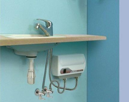 Luogo di installazione del riscaldatore dell'acqua di pressione