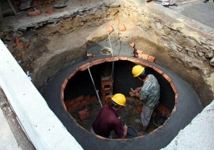 Biogáz telepítés alatt