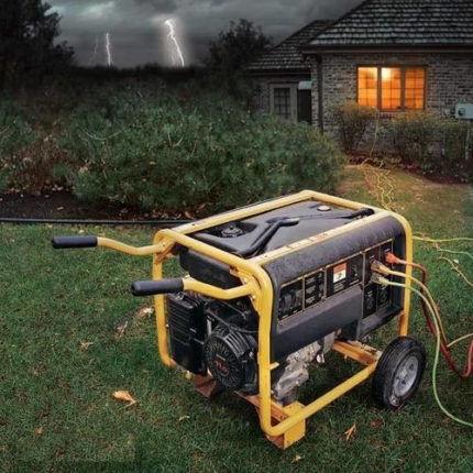 عملیات ژنراتور الکتریکی