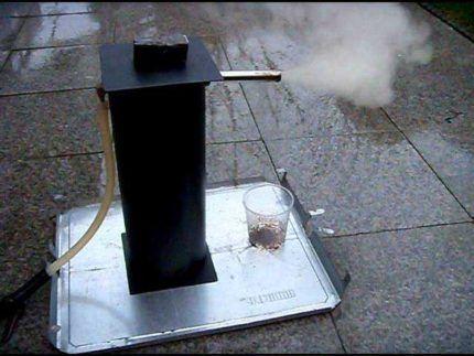 Máy phun khói lạnh phun