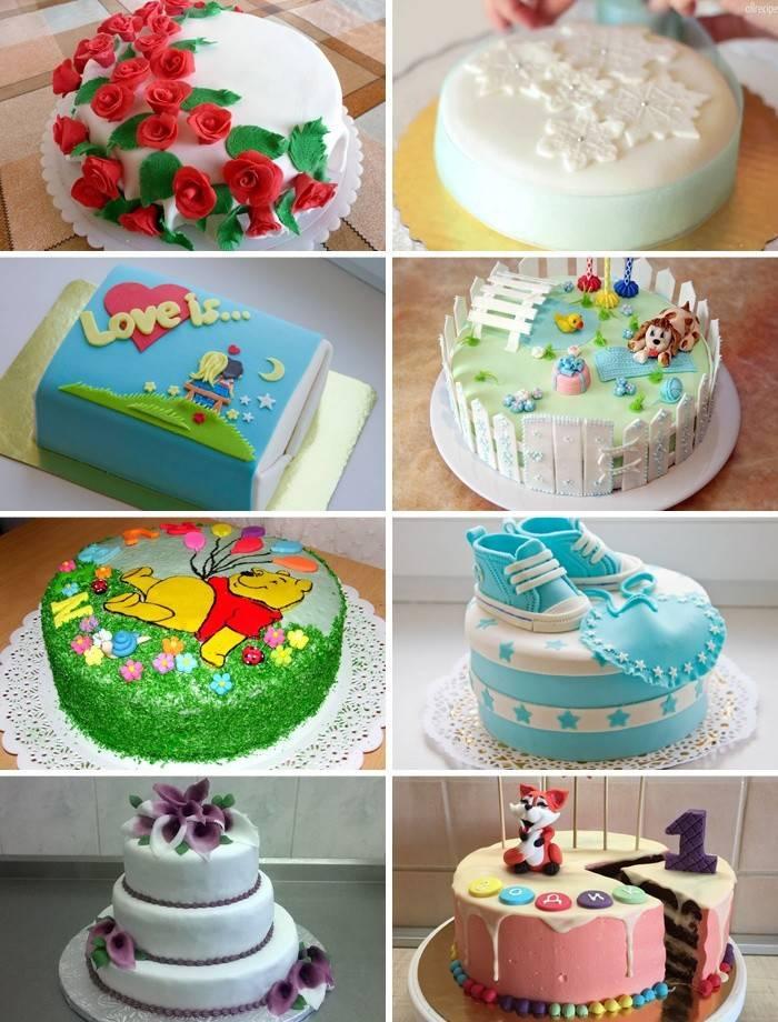Registro de masilla de pasteles en casa.