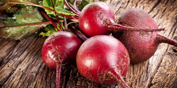 Young fresh beet