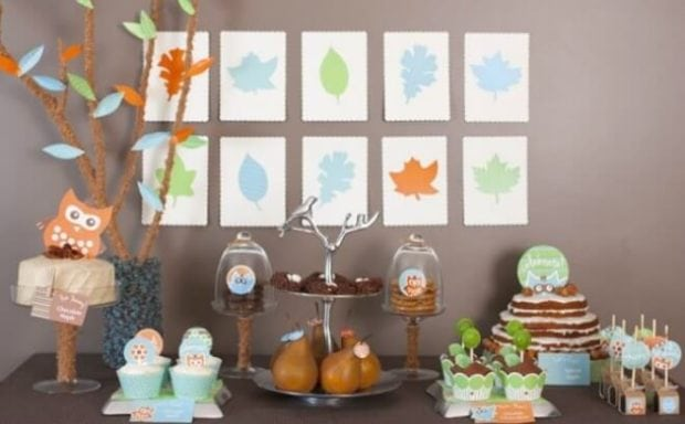 A Woodland Buddies Themed Baby Shower Sip And See