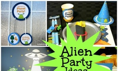 Alien Birthday Party Ideas Spaceships And Laser Beams