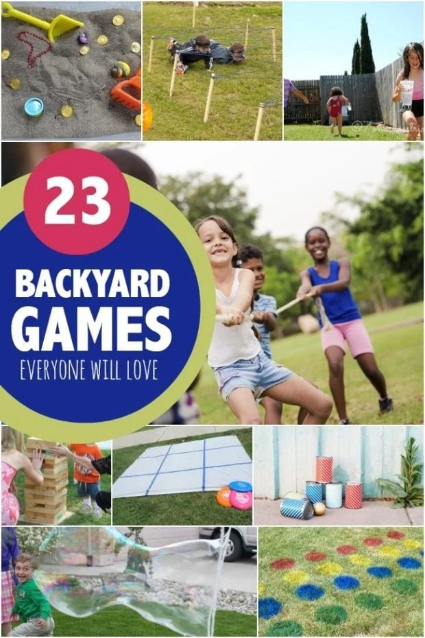 Backyard Games Kids
