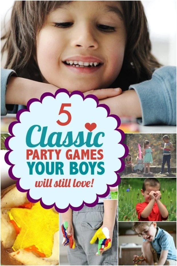 5 Classic Party Games For Kids Your Boys Will Still Love
