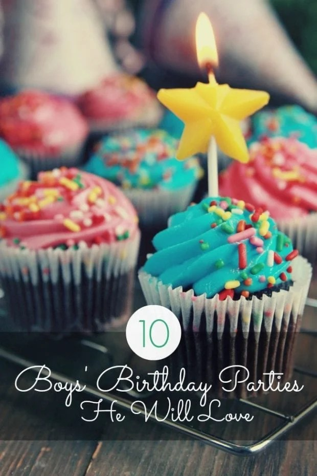 10 Boy S Birthday Parties He Ll Love Spaceships And