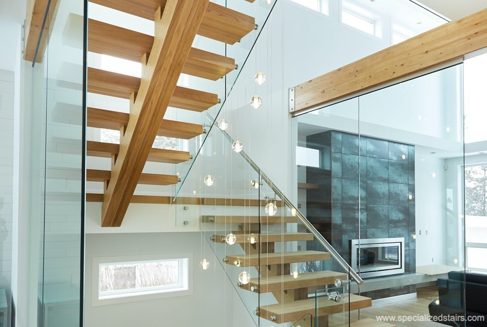 What Are Mono Stringer Stairs Specialized Stair Rail Edmonton | Wood Stringers For Stairs | Metal | Double Stringer | Stair Tread | Framing Square | Risers