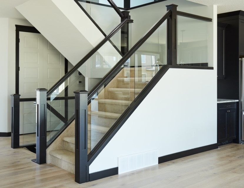 5 Things You Need To Know About Glass Railing Specialized Stair   Modern Glass Staircase Design   Half Wall Glass   Marble Floor Glass   Modern Style   Stainless Steel   Stair Case