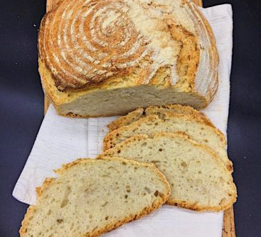 Pane campangnolo (italienisches Topfbrot)