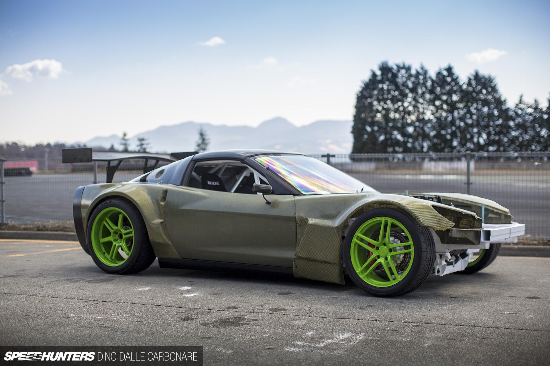 Sport Car Race Corvette Grand
