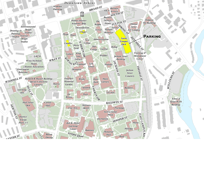 Uga Health Sciences Campus Map.Uga Campus Map Building