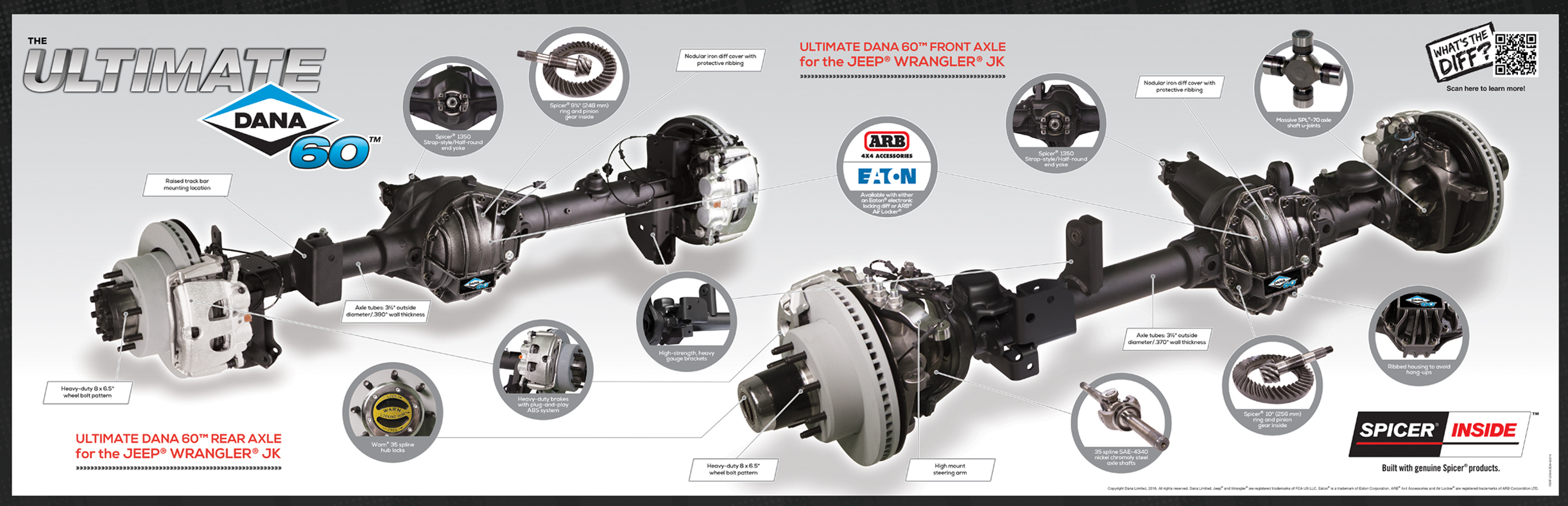 Ford Front Differential Parts
