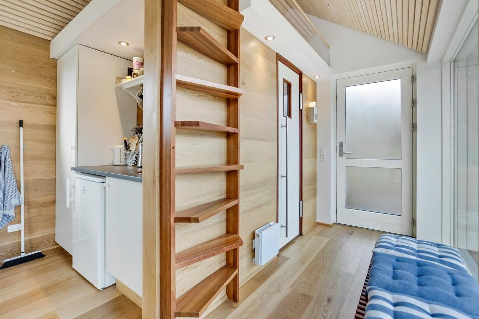 Stairs For Tiny Spaces – Spicyhappy   Wooden Stairs Design For Small Spaces   Apartment   Cabinet   2Nd Floor Small Terrace Concrete   Residential   Outdoor
