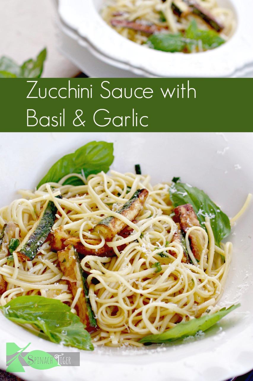Zucchini Sauce with Basil & Garlic by Angela Roberts