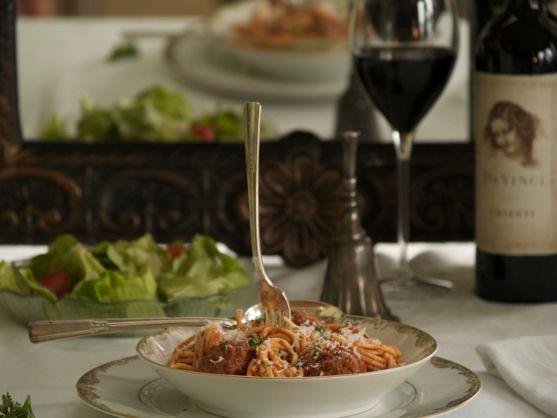 Spaghetti & Meatballs by Angela Roberts