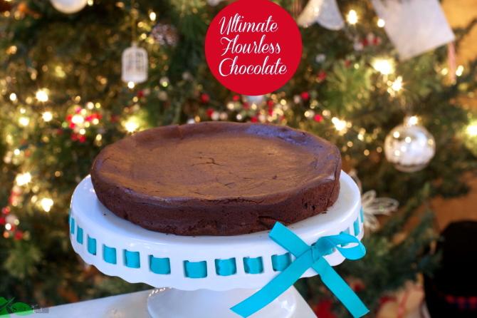 Flourless Chocolate Cake by Angela Roberts