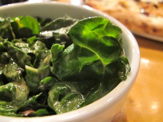 Swiss Chard Salad at City House by Angela Roberts
